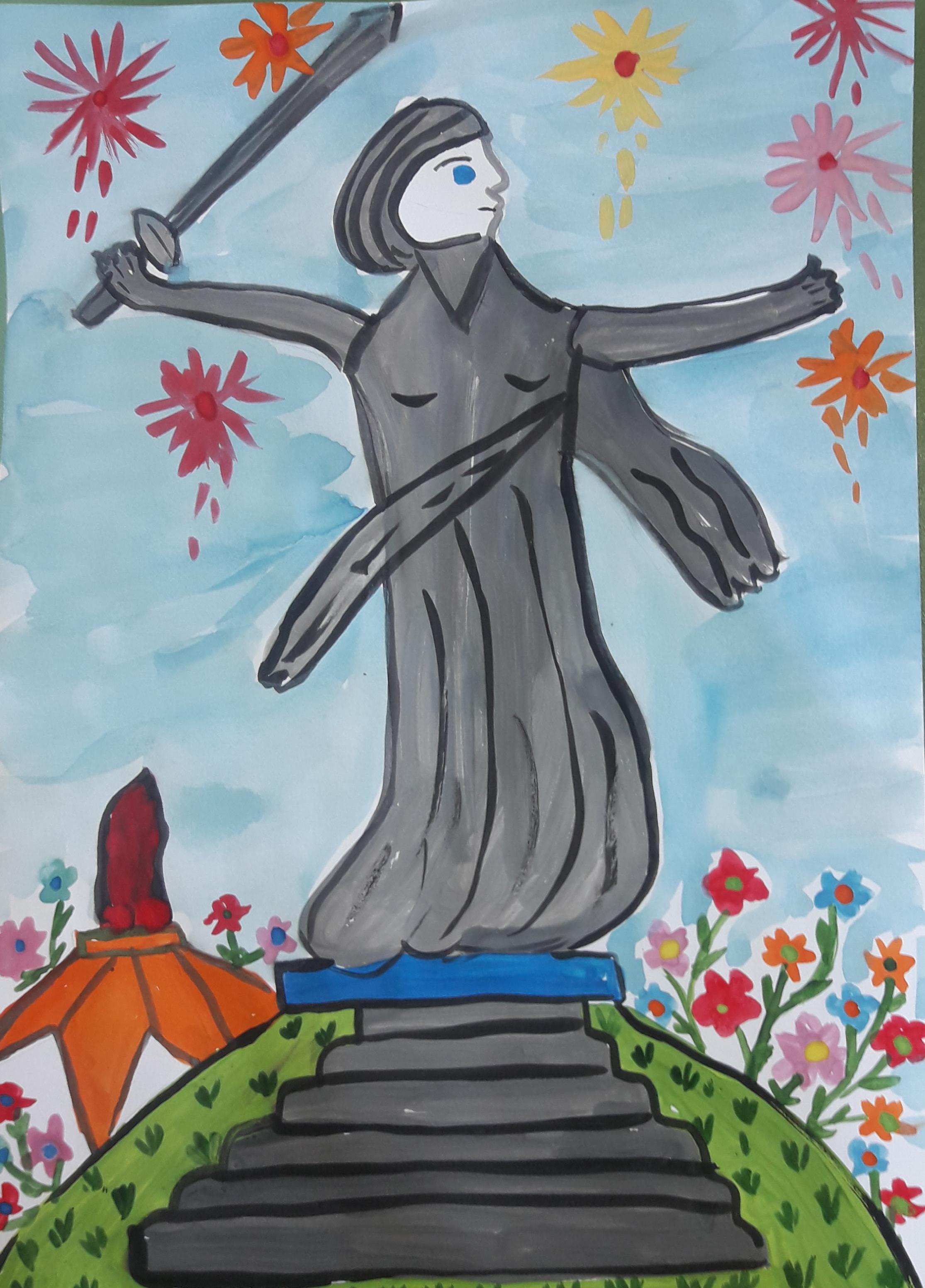 """Анна Гладкова, 7 лет, детский сад """"Семицветик"""", г. Нарьян-Мар"""