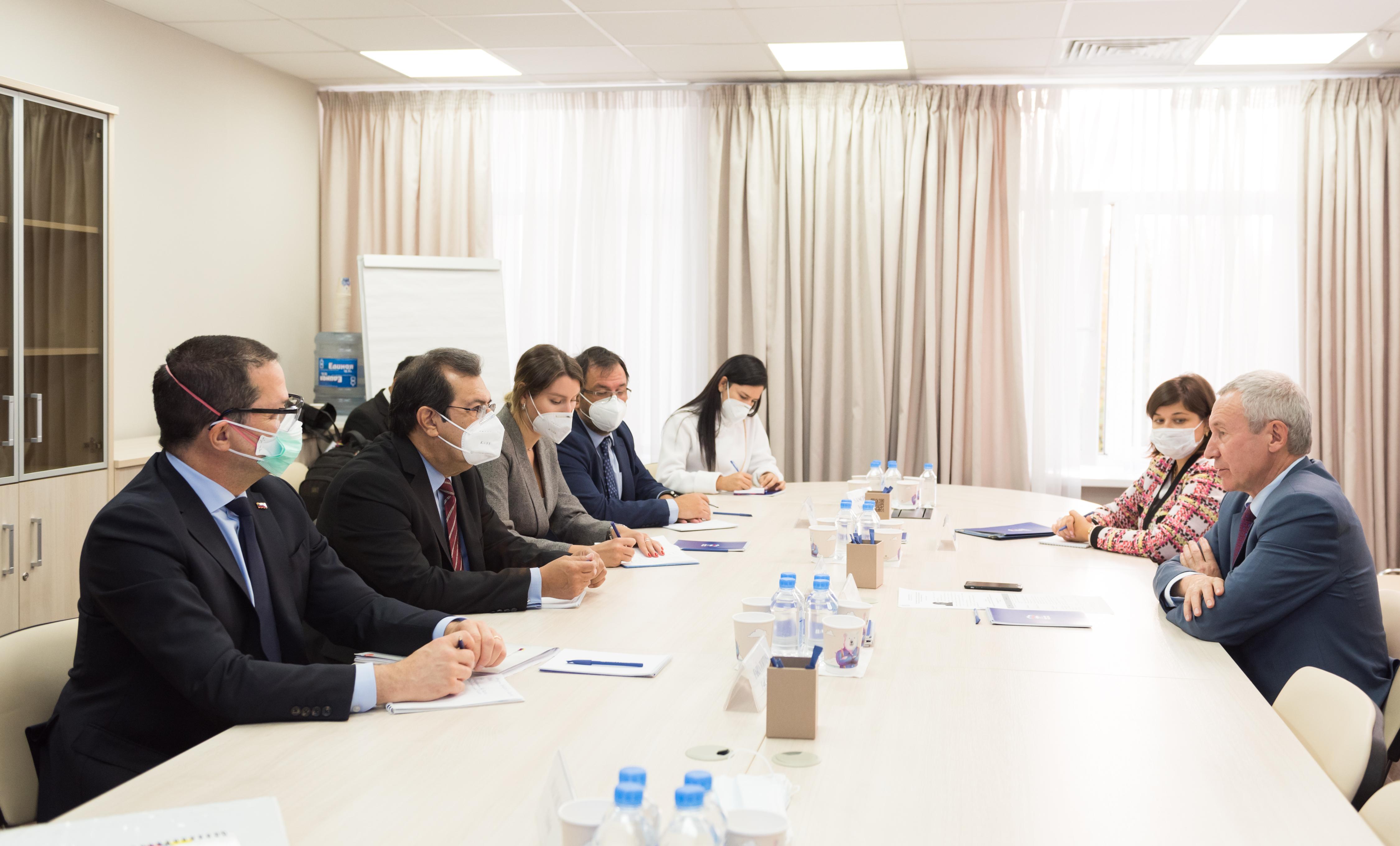 Встреча заместителя секретаря Генсовета партии Андрея Климова с руководством Единой социалистической партии Венесуэлы
