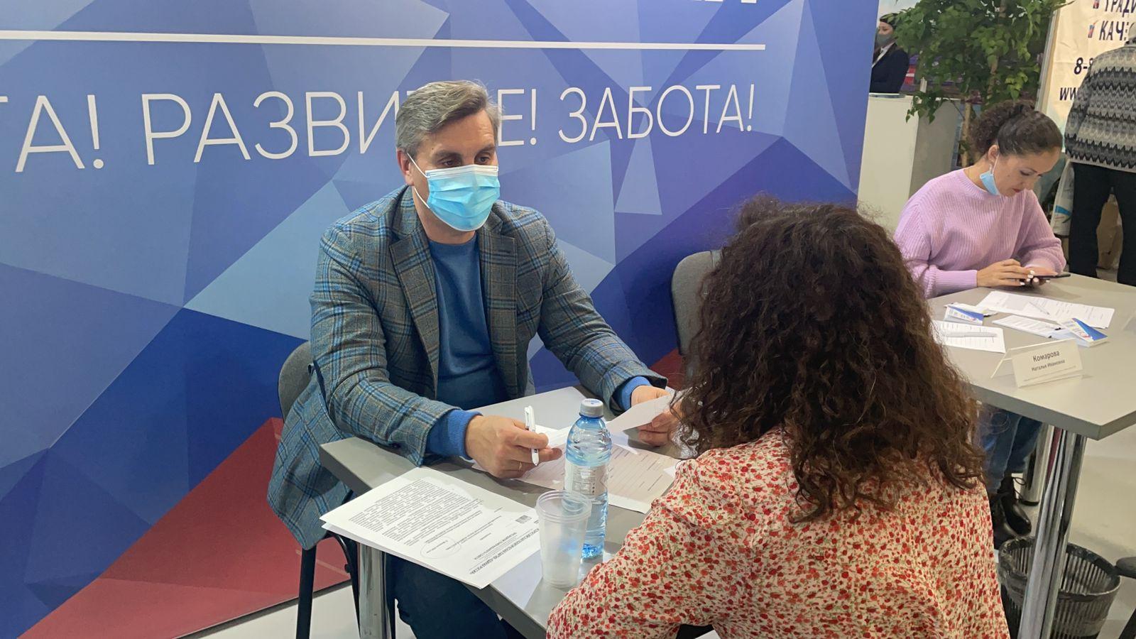 «Единая Россия» принимает участие в форуме-выставке «Дни старшего поколения» в Красноярске