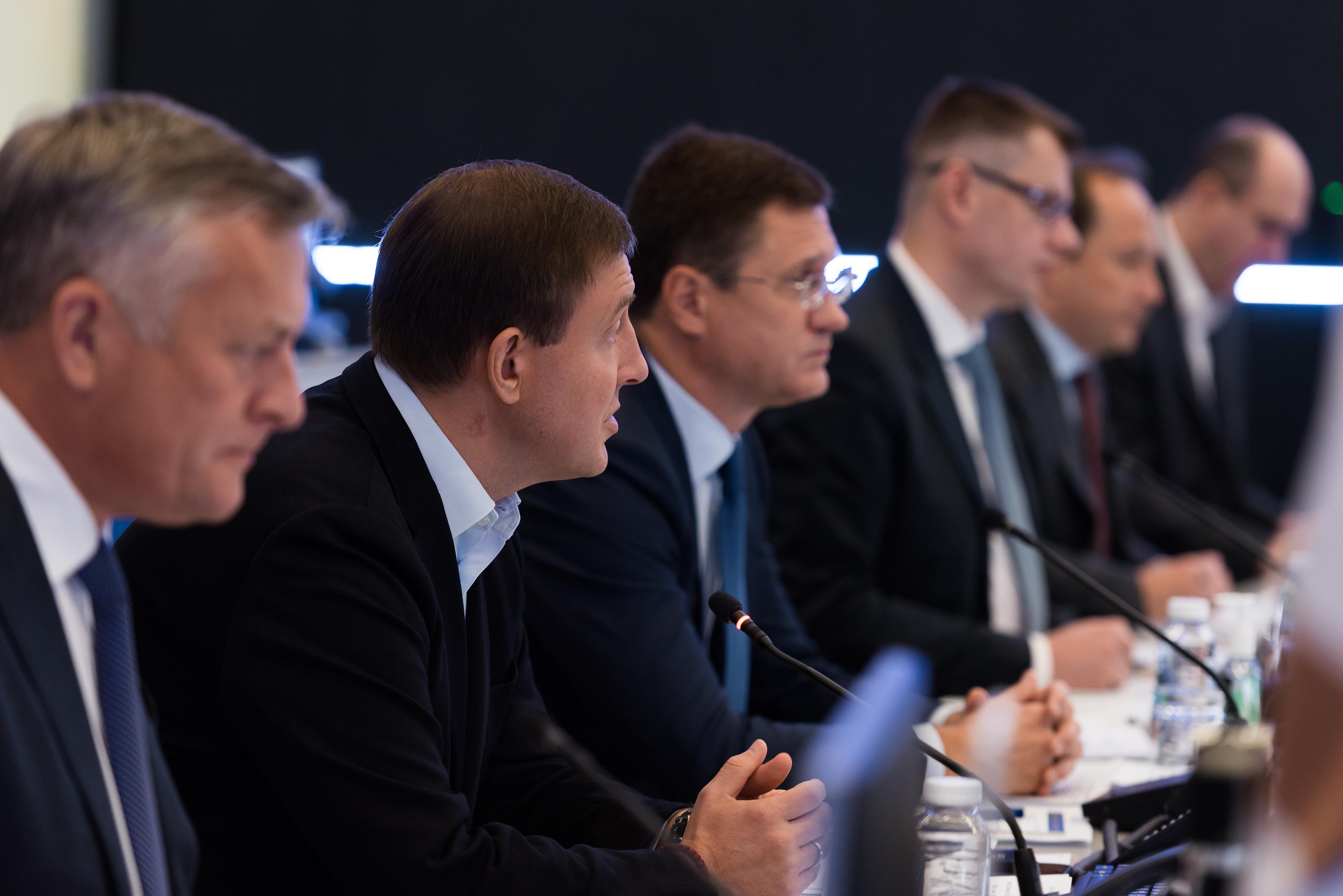 Заседание федерального штаба по газификации