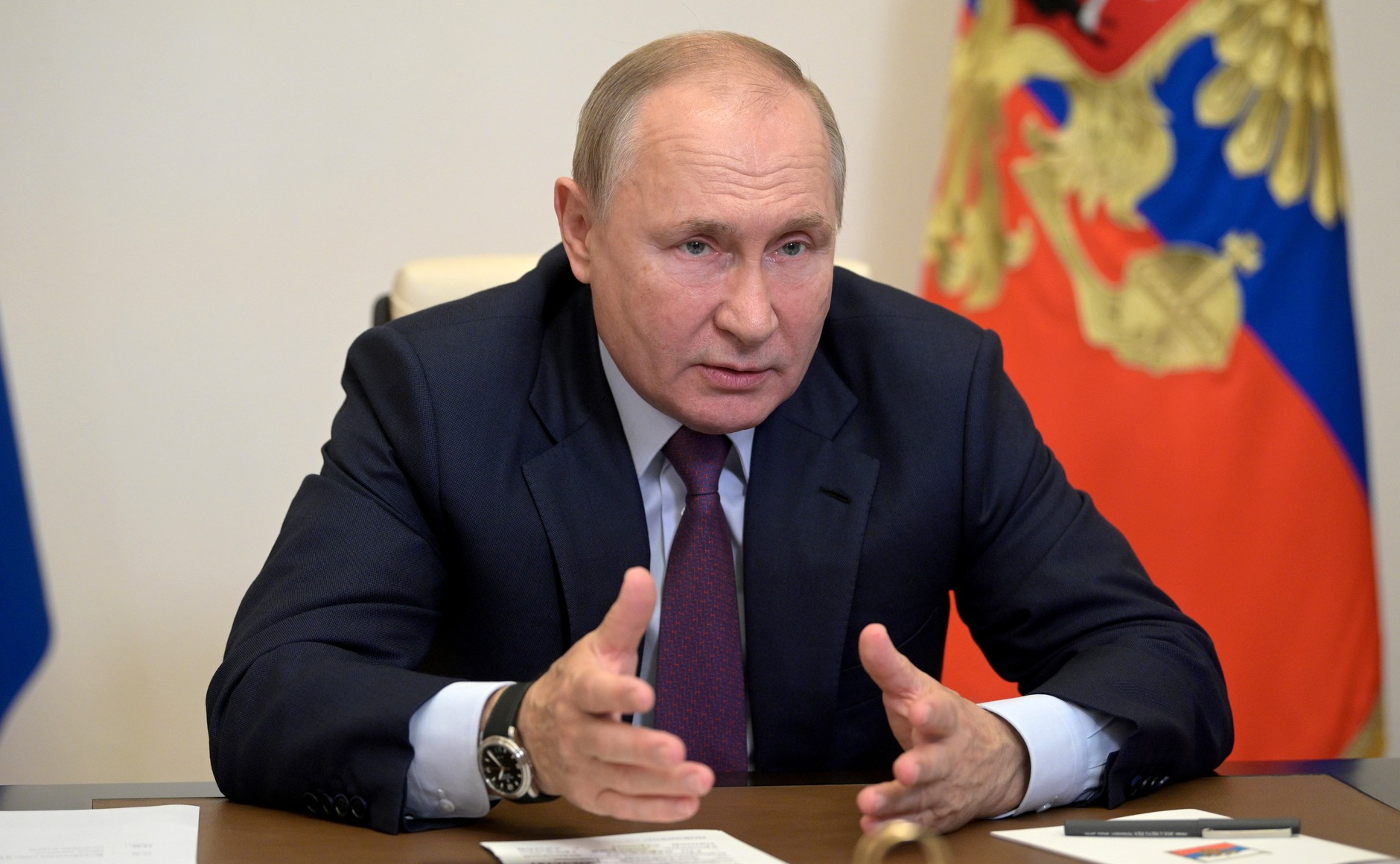 Встреча Владимира Путина с лидерами предвыборного списка «Единой России». Фото: kremlin.ru