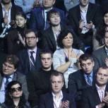 Состоялась процедура голосования за решение о выдвижении Путина кандидатом на президентские выборы от «Единой России»