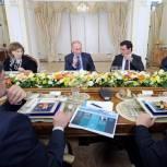 "Путин: ""Единая Россия"" нужна, как основа Госдумы"