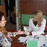 Мобильная медицинская бригада провела прием граждан в Спасском районе