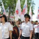 Единороссы приняли участие в мероприятиях, посвященных Дню Победы