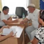 Владимир Зотов встретился с жителями Борисовского района