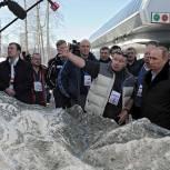 Президент РФ осмотрел олимпийские объекты в Сочи