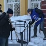 Смоленские Партийцы проводили Масленицу ударным трудом
