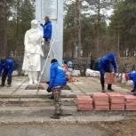 Ко Дню Победы в посёлке Водный восстанавливают памятник