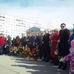 Торжественный митинг в Усинске