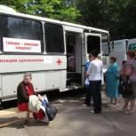 Автопоезд «Забота и здоровье» совершил остановку в поселке Строитель