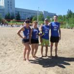 """Команды """"ЕДИНОЙ РОССИИ"""" показали себя на летних играх по пляжному волейболу"""