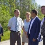 Игорь Леонов проинспектировал коммунальное и дорожное хозяйство  поселков Водный и Веселый Кут