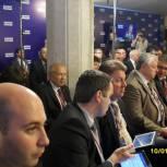 Калужские партийцы принимают активное участие в мероприятиях второго дня Съезда Партии