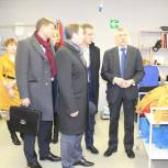Виктор Зубарев посетил предприятия Озерского района
