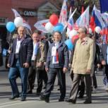 Первомай в Рязани объединил более 50 тысяч человек