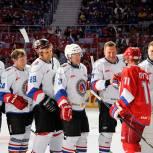 Депутат-единоросс Олег Смирнов сразился в хоккей с Владимиром Путиным