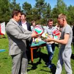 В Демидове стартовал детский футбольный турнир