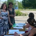 Голосование в Малосердобинском районе