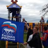 Очередную детскую площадку установили в рамках партийного проекта