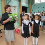 Сыктывдинские партийцы поздравили детей с Днём знаний (фотоотчёт)