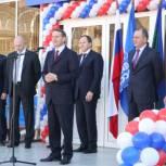 Нарышкин открыл 50-ый бассейн в рамках проекта «Единой России»