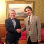 Андрей Климов встретился с представителем «Лиги Севера»