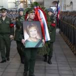 В Колонном зале Дома Союзов прошло прощание с Людмилой Швецовой