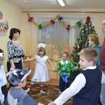 Новогодний праздник для детей из Княжпогостского социально-реабилитационного центра