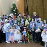 Партийцы поздравили талантливых детей Княжпогостского района