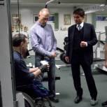Новый тренажер для спортсменов-инвалидов