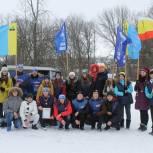 В районах Рязанской области единороссы вышли на лыжню