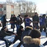 Масленичные гуляния прошли в селе Степное