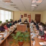 Валентина Кабанова посетила Воскресенский район