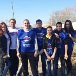 Партийцы и молодогвардейцы Скопина привели в порядок воинский мемориал