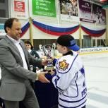 Во Дворце спорта «Олимпийский» чествовали юных рязанских спортсменов