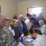 В село Горлово Скопинского района прибыл автопоезд «Забота и здоровье»