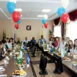 Скопинским школьникам вручили стипендии главы администрации района