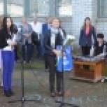 «ЕДИНАЯ РОССИЯ» поздравила найстенъярвских школьников с Днём знаний