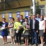 Мария Липчанская: Наш район славится замечательными людьми