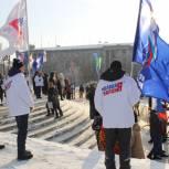 Омские партийцы приняли участие в самом холодном забеге мира