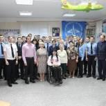 Курсанты Сасовского летного училища встретились с Марией Богачевой