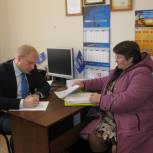 Михаил Максюков провел прием граждан