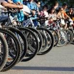 Балаковцы приняли участие в традиционном велопробеге