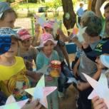 Активисты Мичуринского округа организовали патриотическую акцию для детей
