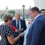 Калужане принимают участие в XV Съезде «Единой России»
