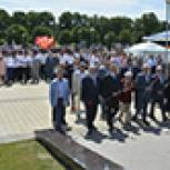В Прохоровке отпраздновали 73-ю годовщину Прохоровского танкового сражения