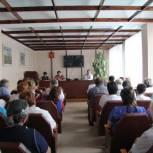 Елена Митина провела встречу с сотрудниками Ряжской ЦРБ и районным Советом ветеранов