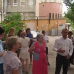 Активисты движения «Любимый город» встретились с жителями Октябрьского района