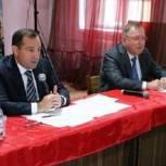 Игорь Брынцалов обсудил с жителями микрорайонов Заря и Северный реализацию дорожных карт